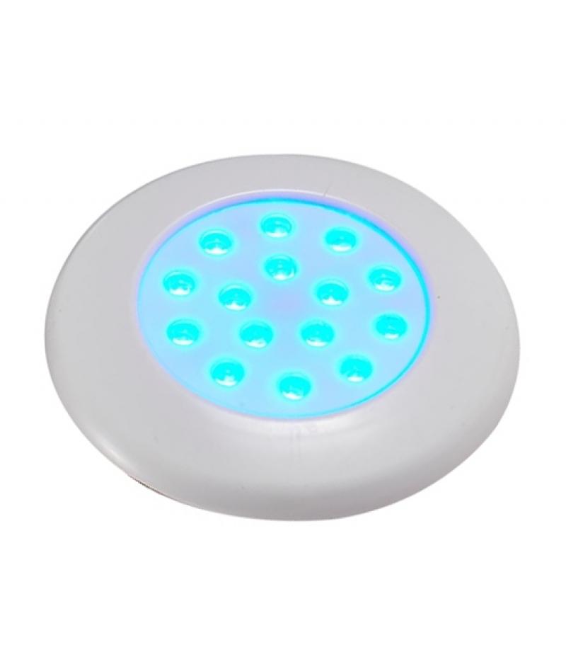 Светодиодный подводный накладной светильник UG3018 18W AC12V IP68 D300xH70мм RGB (Низковольтный)