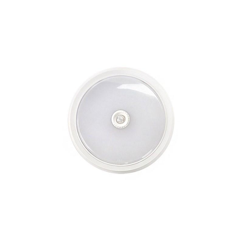 Светильник светодиодный СПБ-2Д 5Вт 230В 4000К 400лм 155мм c датчиком белый IP40 LLT