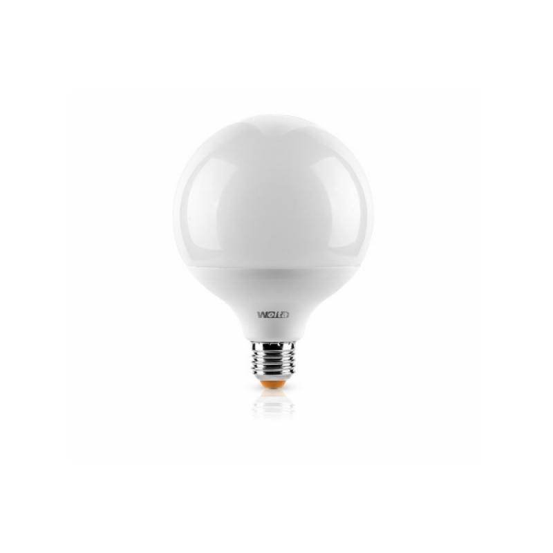 Шарообразная лампа светодиодная 25S120GL18E27 18W 230В Е27 4000К 1700Lm Wolta
