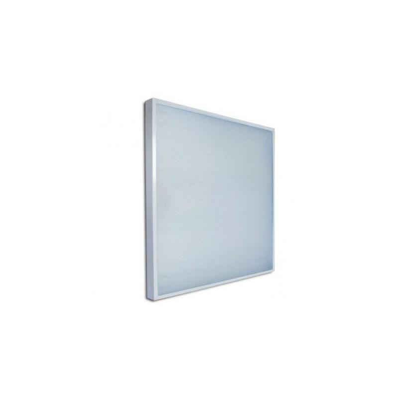 Офисный светодиодный светильник Армстронг STELLAR 40 W встраиваемый/накладной 4680 Lm 5000K 595x595x40 mm Колотый лед