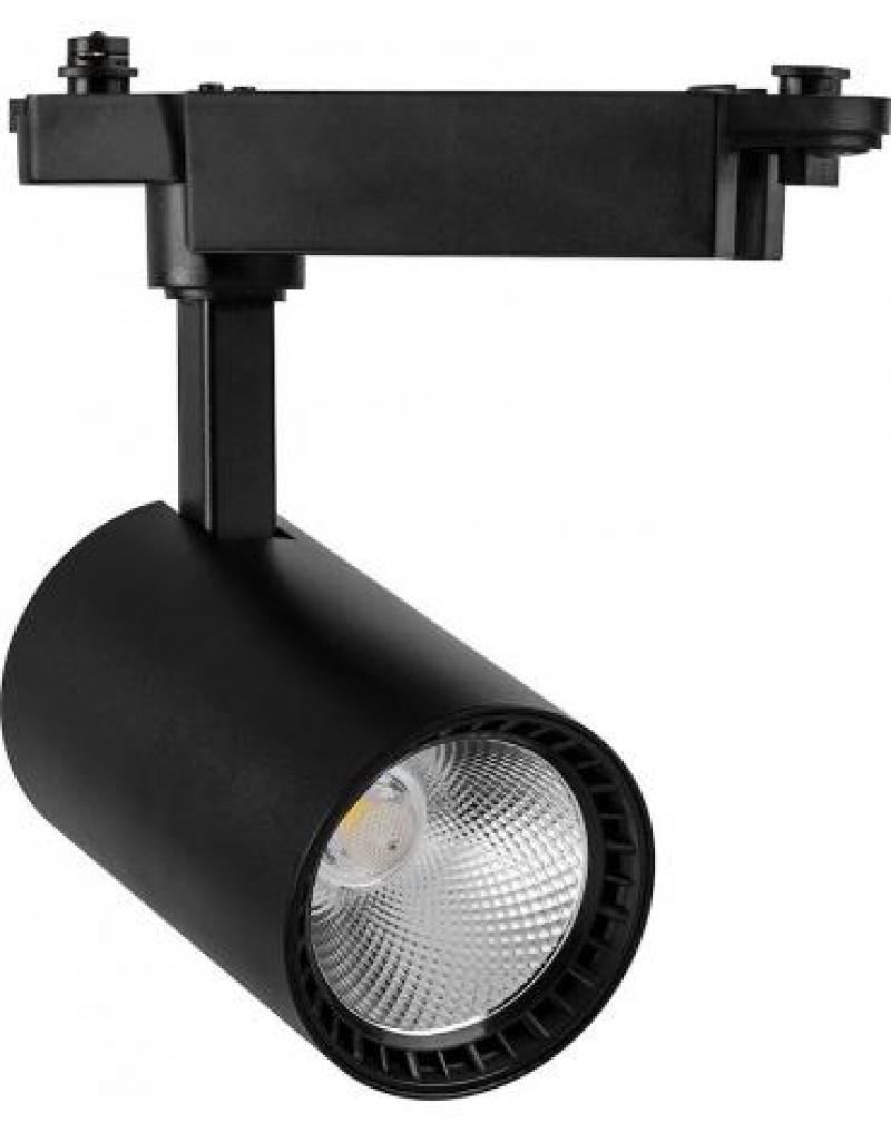 Светодиодный светильник Feron AL102 трековый на шинопровод 12W 4000K 60 градусов черный