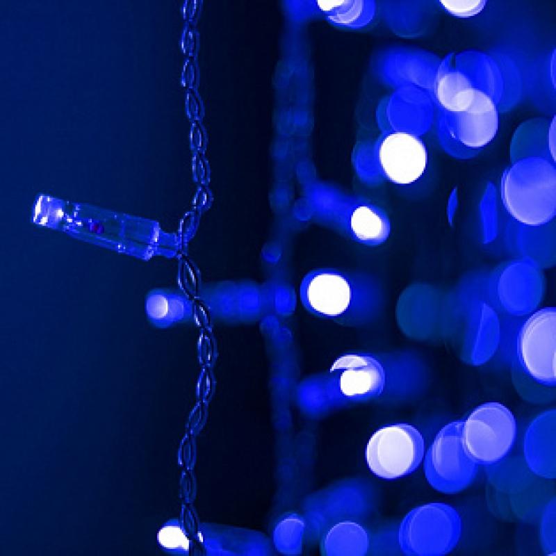 Arlight Светодиодная гирлянда ARD-CURTAIN-CLASSIC-2000x1500-CLEAR-360LED Blue (230V, 60W)