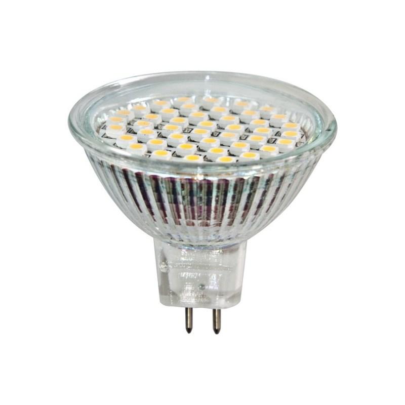 Лампа светодиодная софит Feron MR16 3W 6400K 220V GU5.3