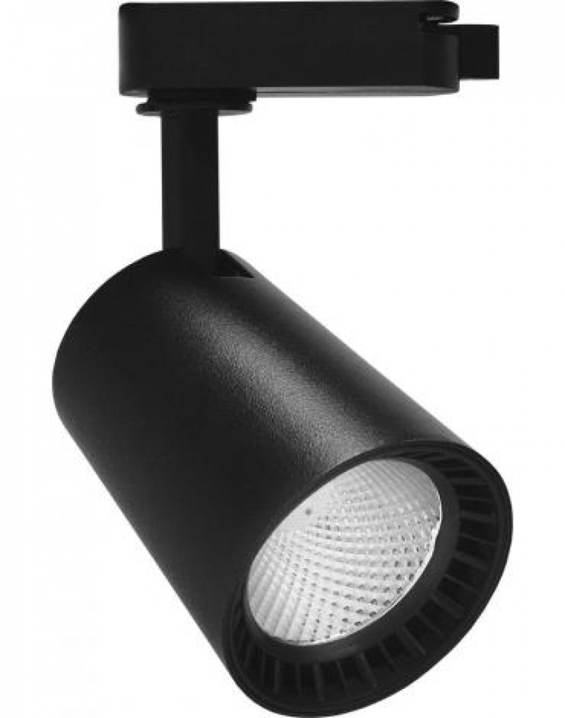 Светодиодный трековый светильник Feron AL100 на шинопровод 8W 4000K 35 градусов 720 Лм черный