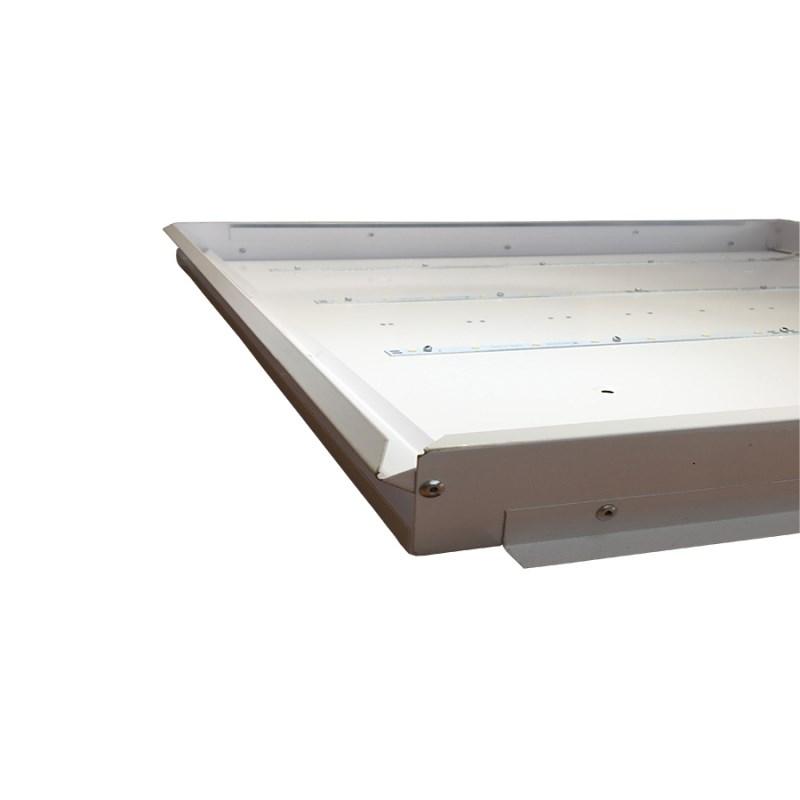 Офисный светодиодный светильник Грильято STELLAR 30 W встраиваемый/накладной 3680 Lm 4000K 588x588x40 mm Колотый лед