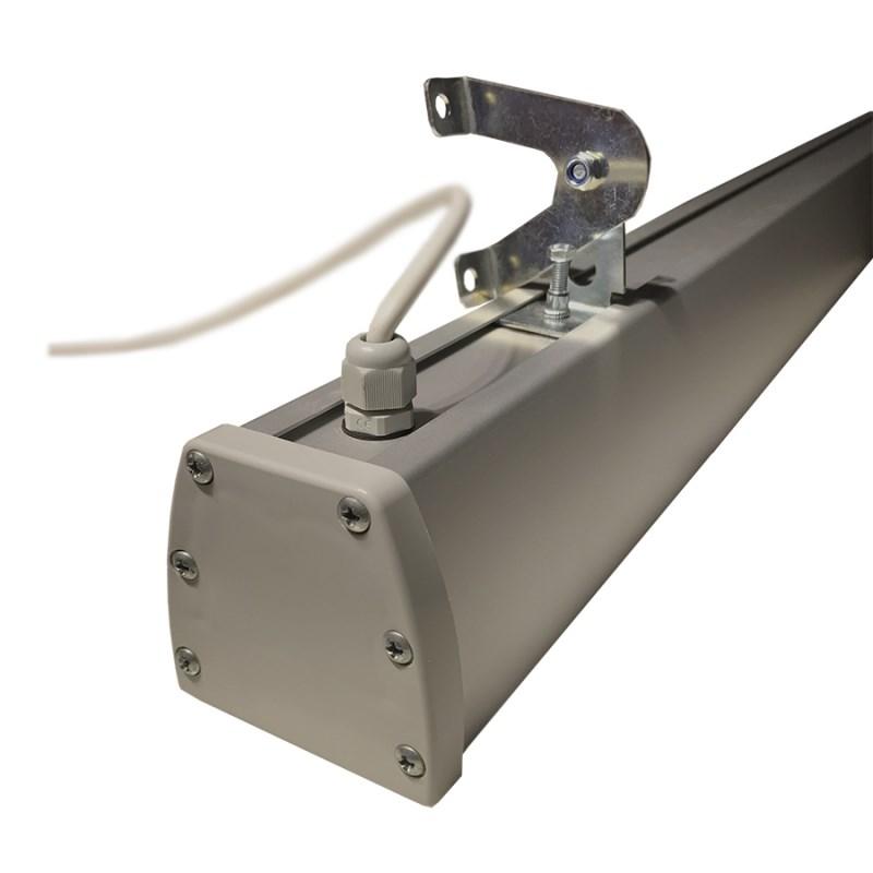 Светодиодный светильник промышленный складской STELLAR серии PROM-OPTIK-80 80W с глубокой оптикой (КСС Г, 60°)