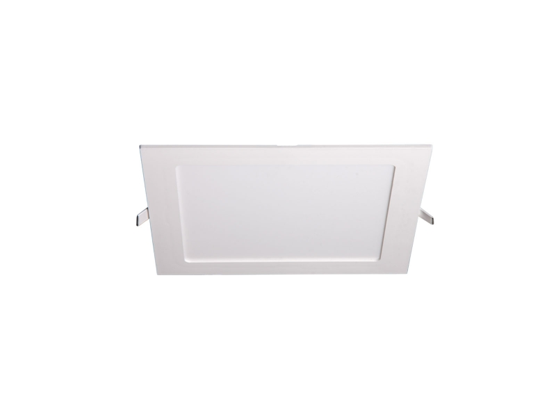 Светильник LED PPL-S 18Вт 4000K IP40 белый 220мм встр/квадр Jazzway .5009745