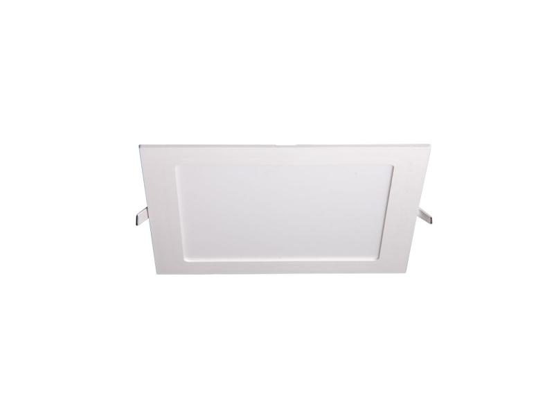 Светильник LED PPL-S 15Вт 1000Лм 4000K IP40 белый 190мм встр/квадр Jazzway .5008380A