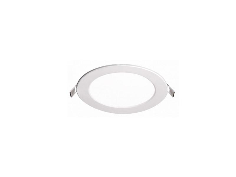 Светильник LED PPL-R 9Вт 600Лм 4000K IP40 бел d145мм встр/кр Jazzway .5008502A