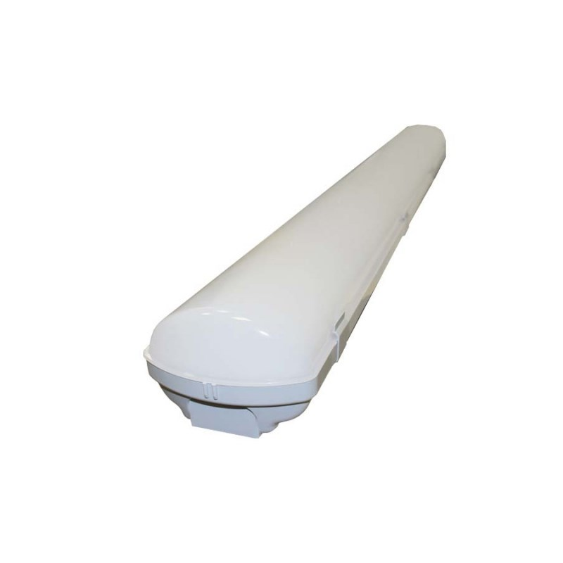 Промышленный светодиодный светильник с функцией диммирования STELLAR LEDPROM-40, 4000К 4680 Lm IP65 опаловый 1280x135x100 мм