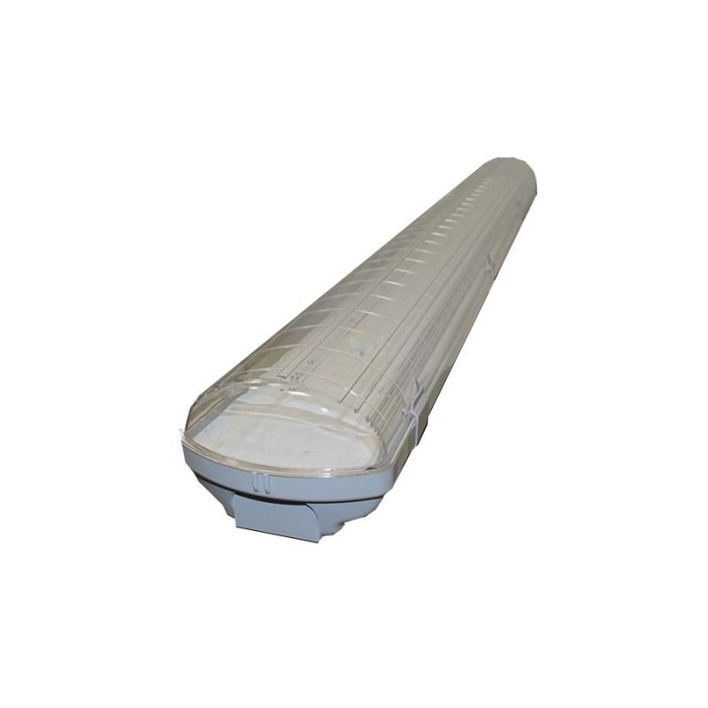 Промышленный светодиодный светильник STELLAR LEDPROM-50, 5000К 5800 Lm IP65 прозрачный 1280x135x100 мм