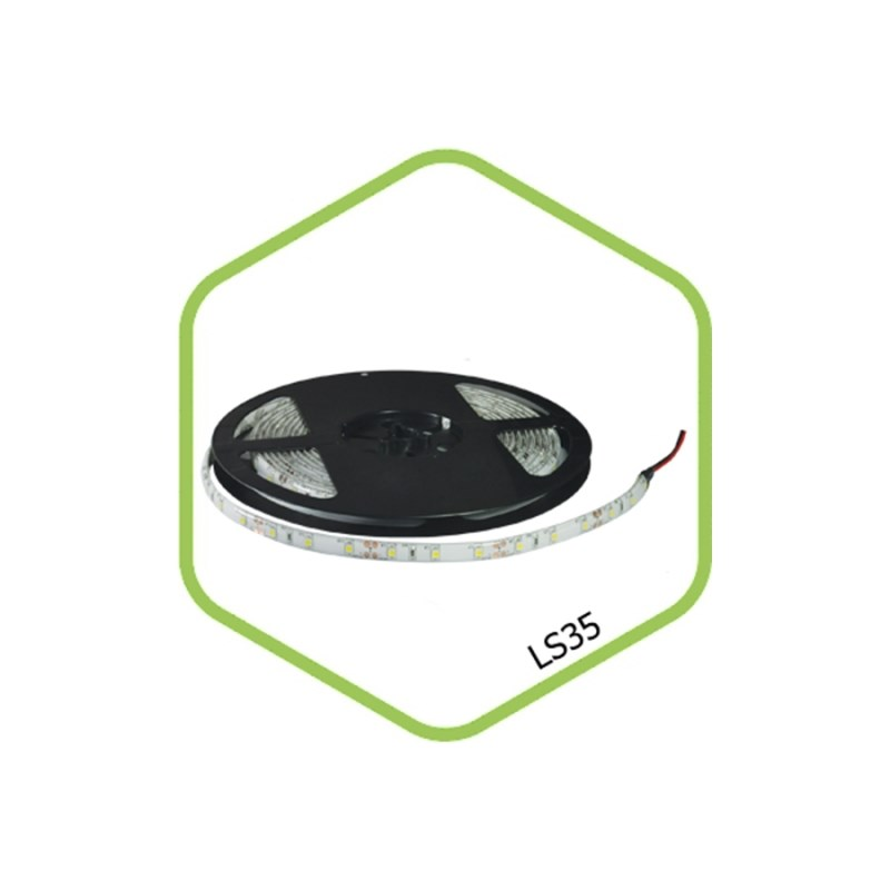Лента светодиодная LS 35G-60/65 60LED 4.8Вт/м 12В IP65 зеленая