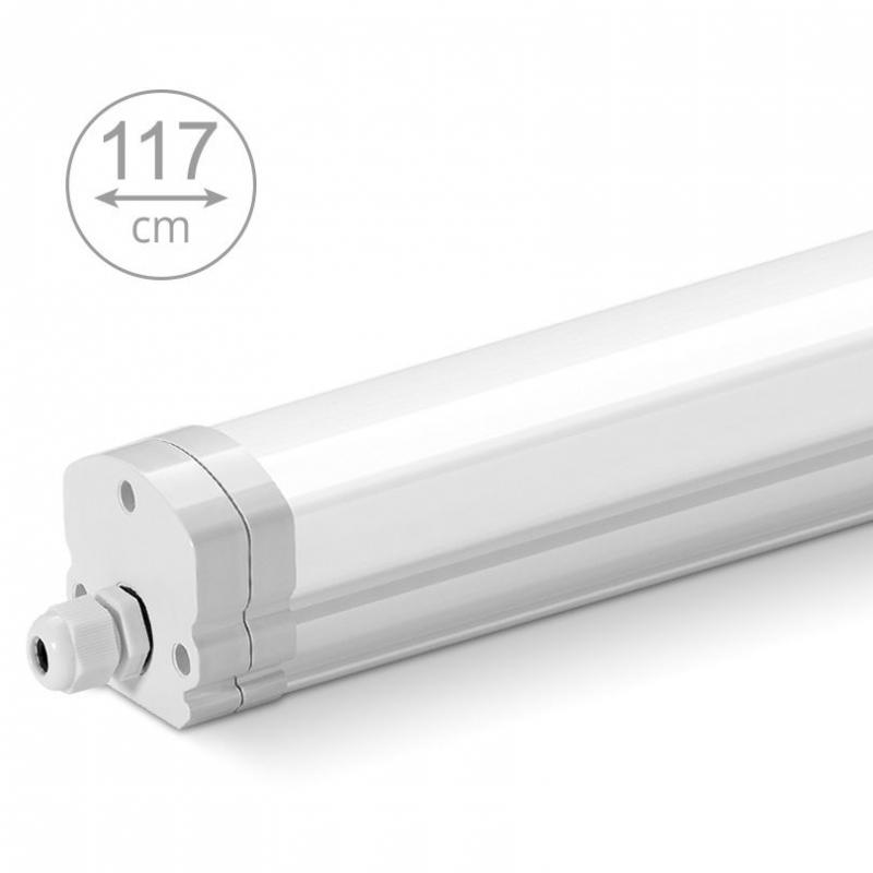 Светодиодный светильник LWPW36W01 36 Вт 2520 Lm 6500K 45x50x1170мм IP65