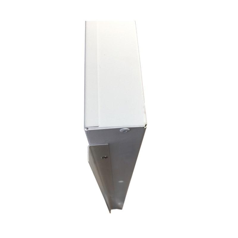 Офисный светодиодный светильник Грильято STELLAR 24 W встраиваемый/накладной 2730 Lm 4000K 588x588x40 mm Колотый лед