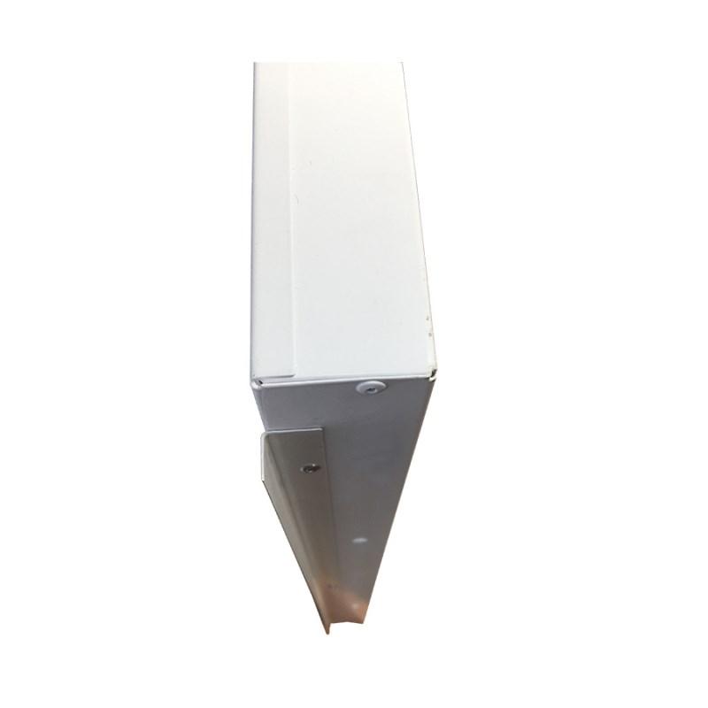 Офисный светодиодный светильник Грильято STELLAR с функцией аварийного и эвакуационного освещения, 24 W встраиваемый/накладной 2730 Lm 4000K 588x588x40 mm Микропризма