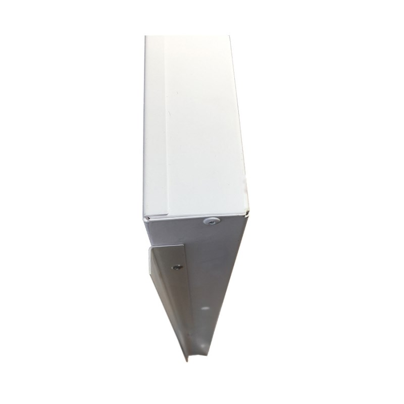Офисный светодиодный светильник Грильято STELLAR с функцией аварийного и эвакуационного освещения, 27 W встраиваемый/накладной 3150 Lm 4000K 588x588x40 mm Колотый лед