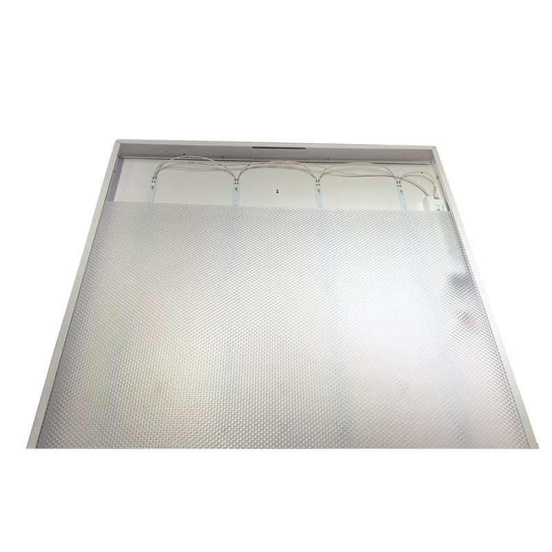 Офисный светодиодный светильник Грильято STELLAR 40 W встраиваемый/накладной 4680 Lm 5000K 588x588x40 mm Колотый лед