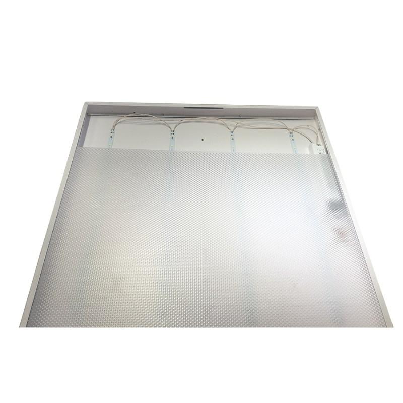 Офисный светодиодный светильник Грильято STELLAR с функцией аварийного и эвакуационного освещения, 45 W встраиваемый/накладной 5400 Lm 4000K 588x588x40 mm Колотый лед