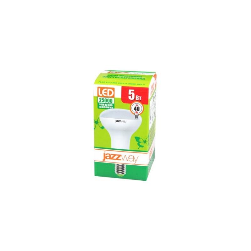 Лампа светодиодная PLED-ECO-R50 5W E14 4000k 220B Jazzway