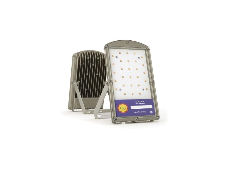 Светильник взрывозащищенный светодиодный LP-03-03/25-220VAC-IP67-EX серия LP-03 ( 25Вт, белый (4500-5000К), 2600Лм угол 1/2 яркости светодиода 120°, 220В, IP67, КСС Д)