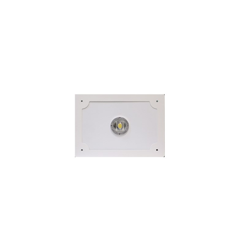 Светодиодный светильник для АЗС Stellar серии PROOIL 50 W 5800 Lm 4000К 360×360х160 мм