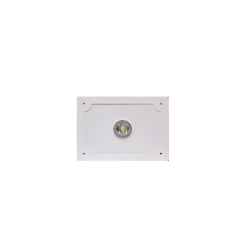 Светодиодный светильник для АЗС Stellar серии PROOIL 50 W 5800 Lm 5000К 360×360х160 мм