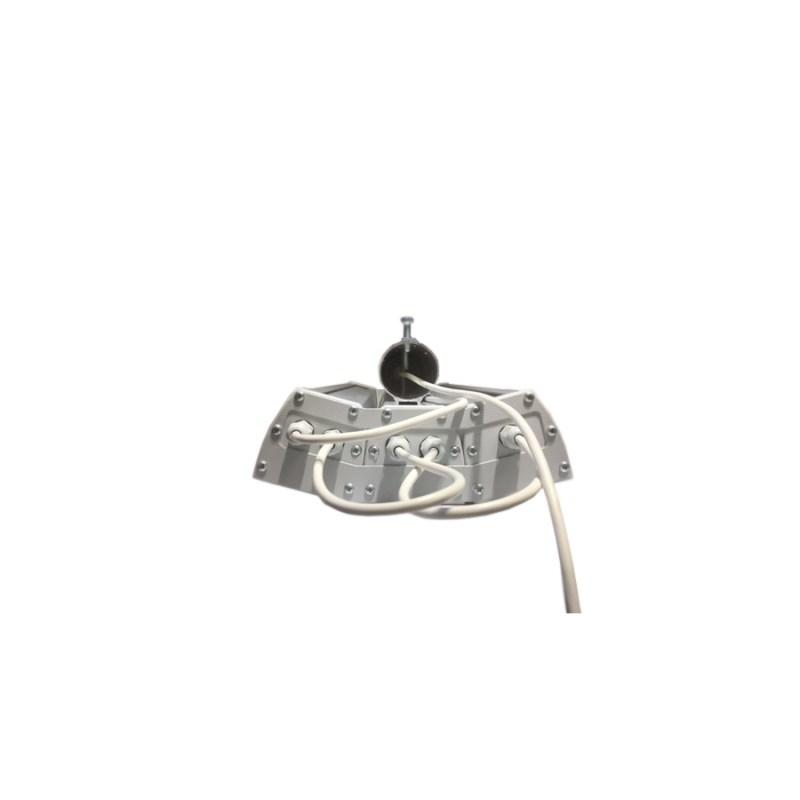Светодиодный светильник промышленный складской STELLAR серии PROM-120 120W 14476 Lm 5000K 500х240х130 мм