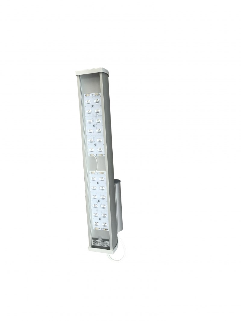 Уличный светодиодный светильник консольный с оптикой STELLAR SKN-S-60-6500-5000-Ш КСС Ш 60W 6500Lm IP67 5000К линзованный