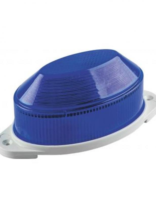 Cветильник-вспышка (стробы), 18LED 1,3W, синий STLB01