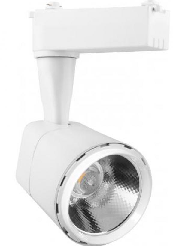 Светодиодный светильник Feron AL101 трековый на шинопровод 8W 4000K 35 градусов 720 Лм белый с драйвером в комплекте