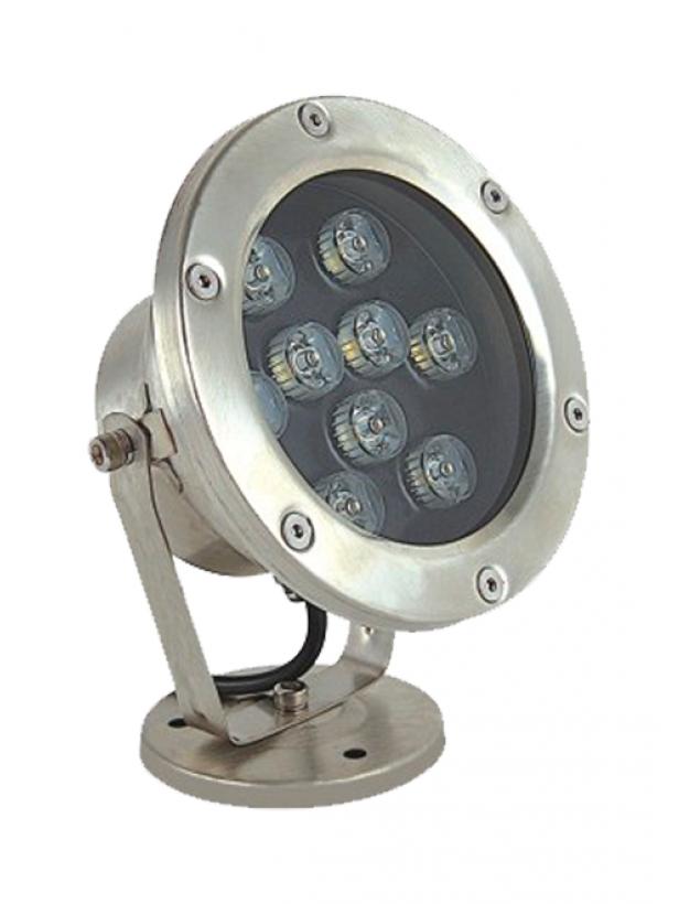 Светодиодный подводный накладной светильник UG1206 6W 12V IP68 D120xH160мм RGB (Низковольтный)