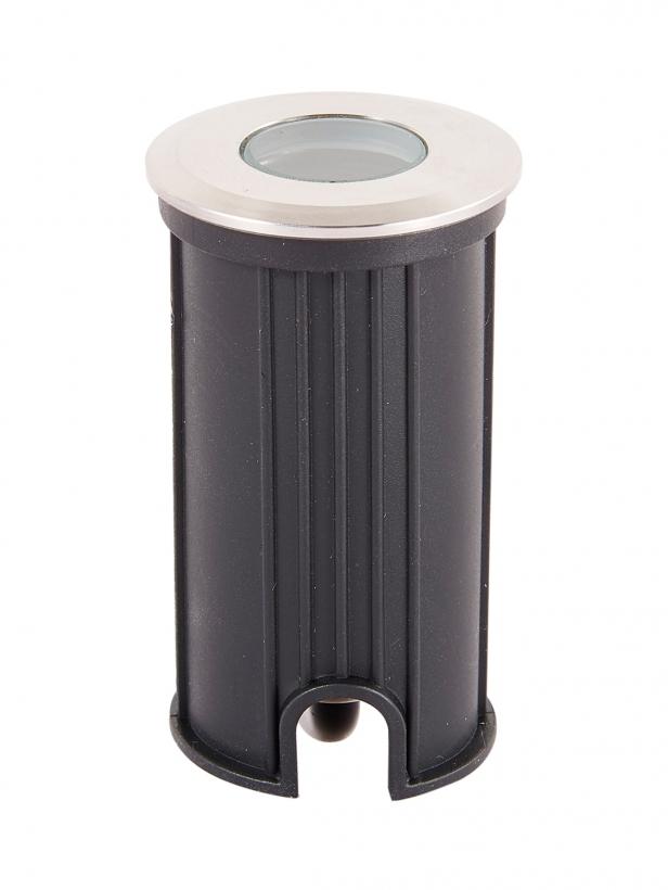 Тротуарный светодиодный светильник круглый UG0421R AC/12V 1W 3000/6000К IP68 D42*H70mm (Низковольтный)