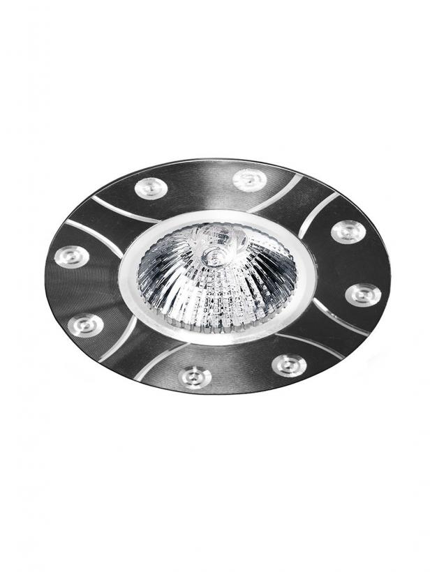 Светильник встраиваемый ALUM  MR16 GU5.3 черный 18x95MM