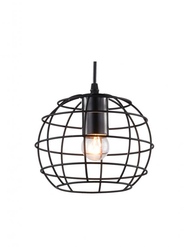 Светильник потолочный Prison Тип ламп E27*1*60W материал: металл D200*1000
