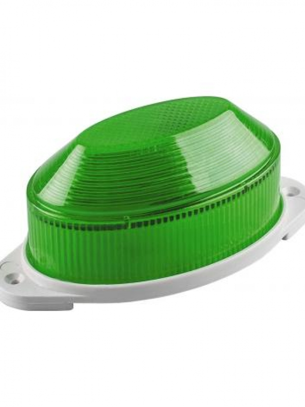 Cветильник-вспышка (стробы), 18LED 1,3W, зеленый STLB01