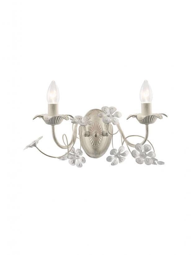 Светильник настенный Anessi Тип ламп E14*2*60W материал: металл, акрил L450*H200*E200