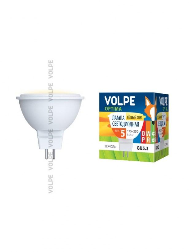 Светодиодная лампа софит Uniel Volpe Optima LED-JCDR-5W/NW/GU5.3/3000K/O