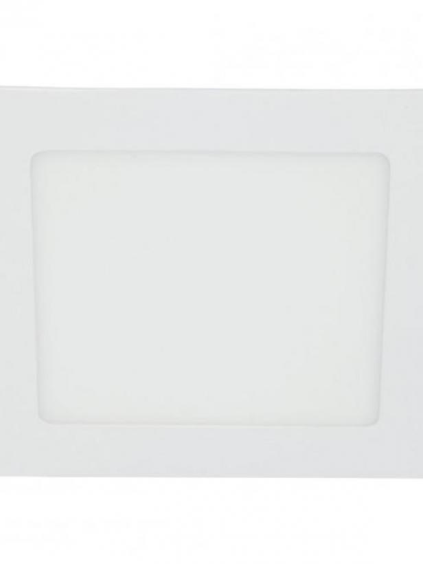 Светильник LED ультратонкий встраиваемый 5W 4000K 325LM квадрат хром 20x80MM