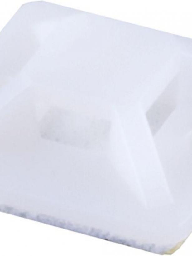 Площадка под хомут STEKKER SMCL2525 самоклеющаяся 25*25 мм