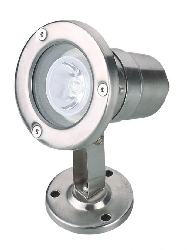 Светодиодный подводный накладной светильник UG1006 6W DC/12V IP68 теплый белый (Низковольтный)