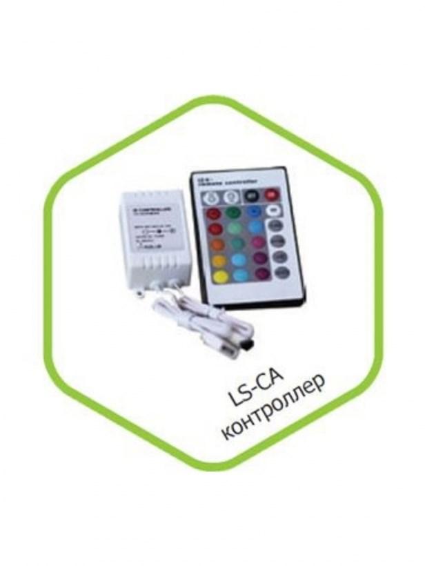 Контроллер LS-CA-6 6А 12В 16 статических 4 динамических канала