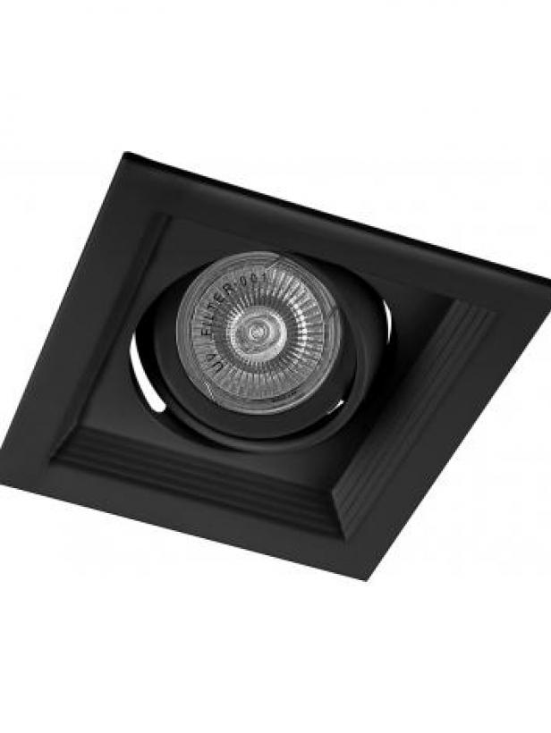 Светильник встраиваемый Feron DLT201 потолочный MR16 G5.3 черный