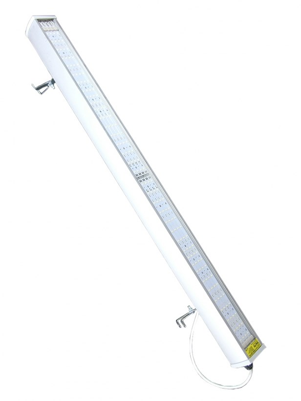 Светодиодный светильник промышленный складской STELLAR серии PROM-100 100W 12220 Lm 5000K 750х75х130 мм