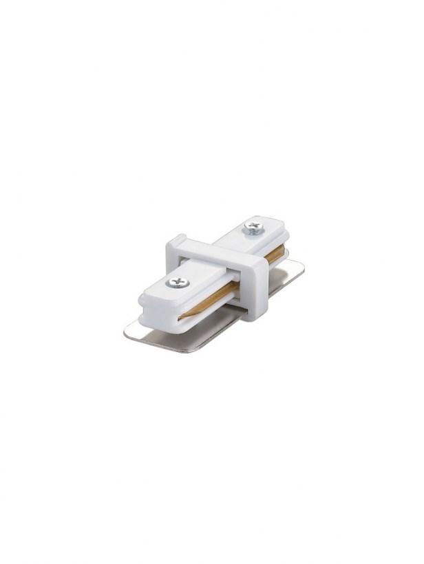 Коннектор для трекового светильника SC-1 прямой белый