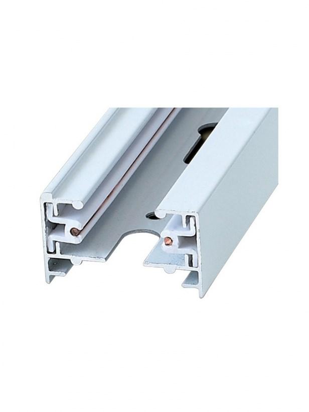 Шинопровод осветительный однофазный для трековых систем освещения UBX-Q121 KS2 WHITE 100 POLYBAG