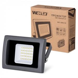 Прожектор светодиодный WFL-20W/03 20Вт 230В 5500К 1700Лм IP65