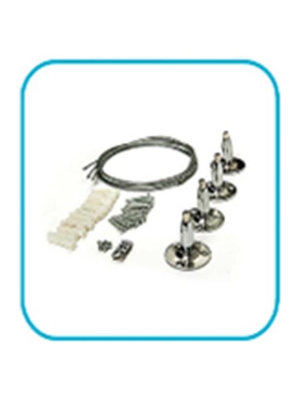 Комплект подвесов LP-КПП-К потолочный КОРОТКИЙ для панели светодиодной