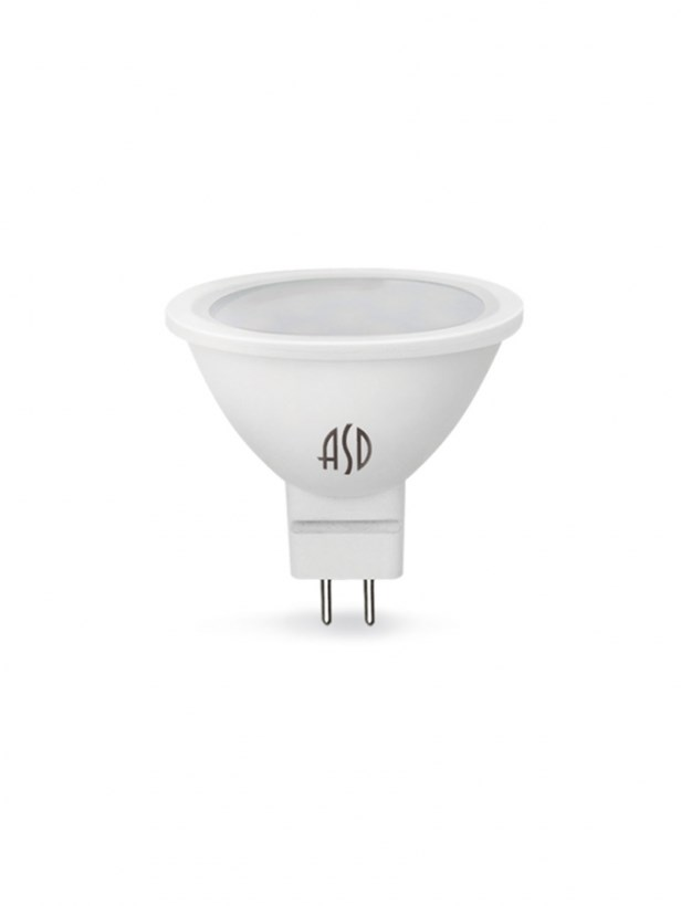 Лампа светодиодная LED-JCDR-standard 3Вт 230В GU5.3 4000К 270Лм ASD
