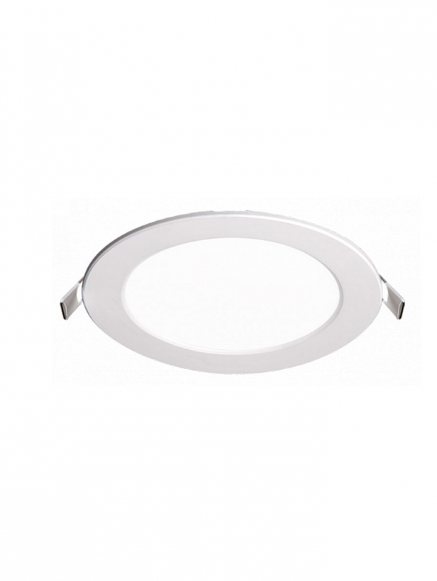 Светильник LED PPL-R 9Вт 6500K IP40 бел d145мм встр/кр Jazzway .5008526A
