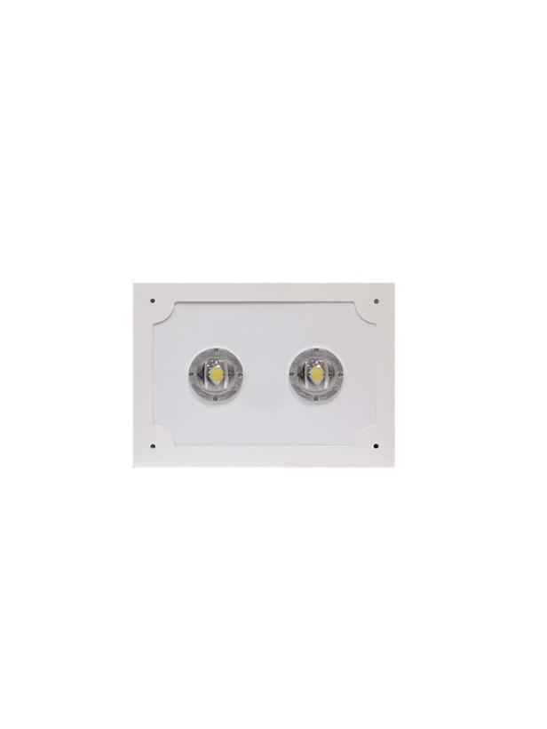 Светодиодный светильник для АЗС Stellar серии PROOIL 100 W 12000 Lm 5000К 360×360х160 мм